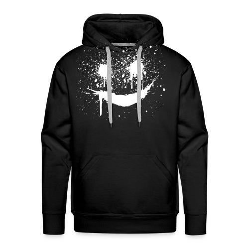 smile hoodie - Premium hettegenser for menn