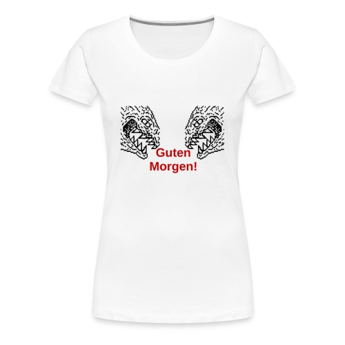 Monstertasse - Frauen Premium T-Shirt
