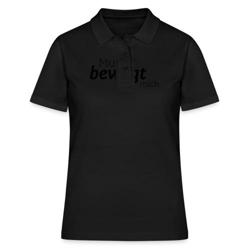 Musik bewegt mich - Frauen Polo Shirt