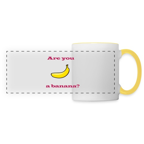 Banana Design T-Shirts - Panoramic Mug
