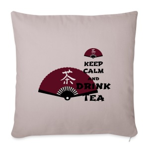 Tasse Keep Calm And Drink Tea - Sofakissenbezug 44 x 44 cm