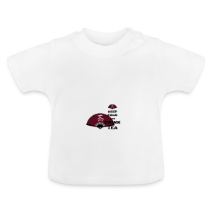 Tasse Keep Calm And Drink Tea - Baby T-Shirt
