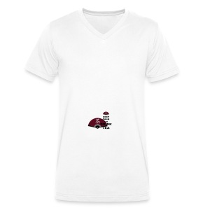 Tasse Keep Calm And Drink Tea - Männer Bio-T-Shirt mit V-Ausschnitt von Stanley & Stella