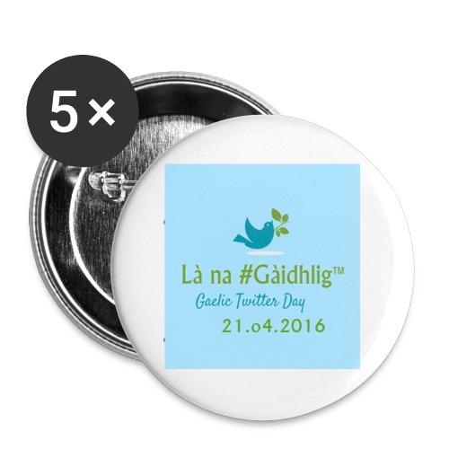 Là na #Gàidhlig 2016 (Baidse Mhòr) - Buttons small 25 mm