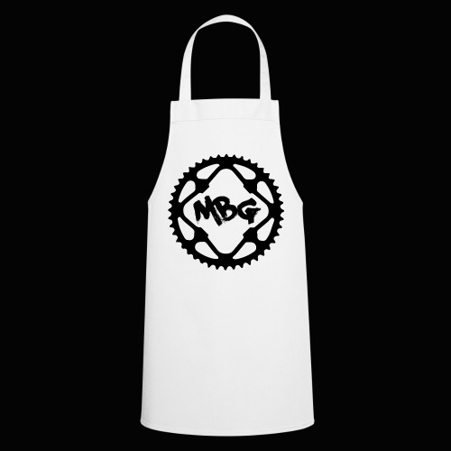 Mans T Shirt with M.B.G Cog Logo - Cooking Apron
