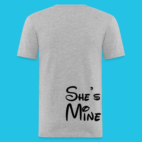 Billy - Männer Slim Fit T-Shirt