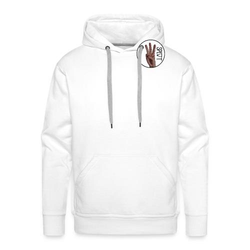 Plain Mens Split Skateboarding Small Logo T-Shirt - Men's Premium Hoodie