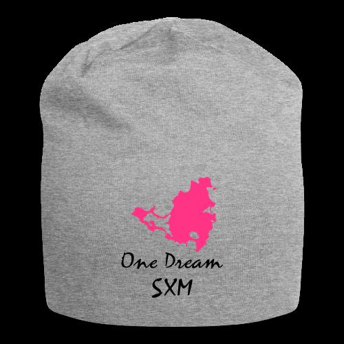 Housse de coussin de canapé One dream - Bonnet en jersey