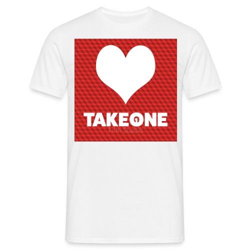 iLoveTAKEONE - Männer T-Shirt