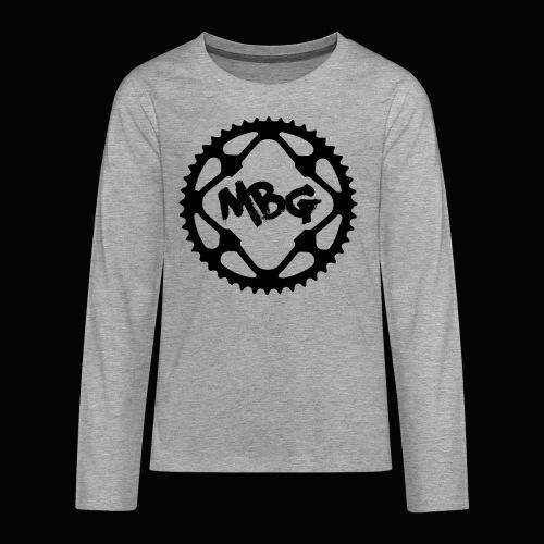 Kids Cog Wheel T - Teenagers' Premium Longsleeve Shirt