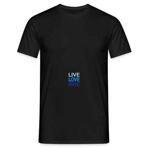Live-Love-Ride - Männer T-Shirt