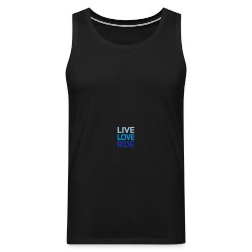 Live-Love-Ride - Männer Premium Tank Top
