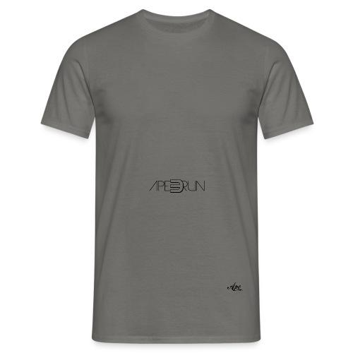 Ape Freerun Snap Back|Grau/Schwarz - Männer T-Shirt