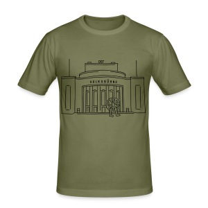 Volksbühne Berlin T-Shirts - Men's Slim Fit T-Shirt