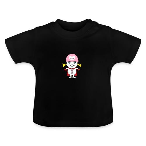 Superheld Mädchen - Baby T-Shirt