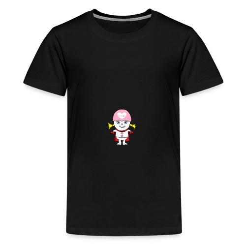 Superheld Mädchen - Teenager Premium T-Shirt
