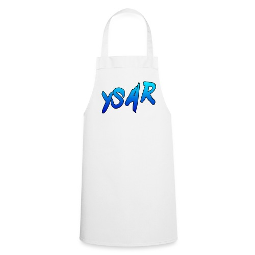 YsaR Text Long Sleeve Baseball Tee - Cooking Apron