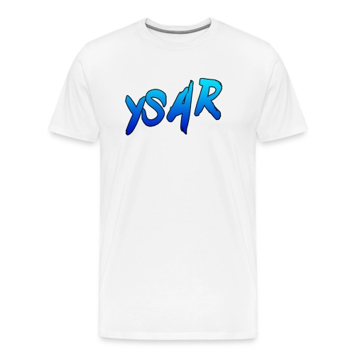 YsaR Text Long Sleeve Baseball Tee - Men's Premium T-Shirt