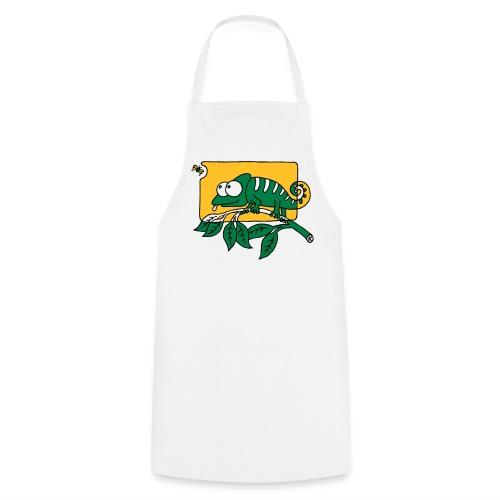 Chamaeleon und Fliege, Farbe, Urwald, Tier, lustig T-Shirts - Kochschürze