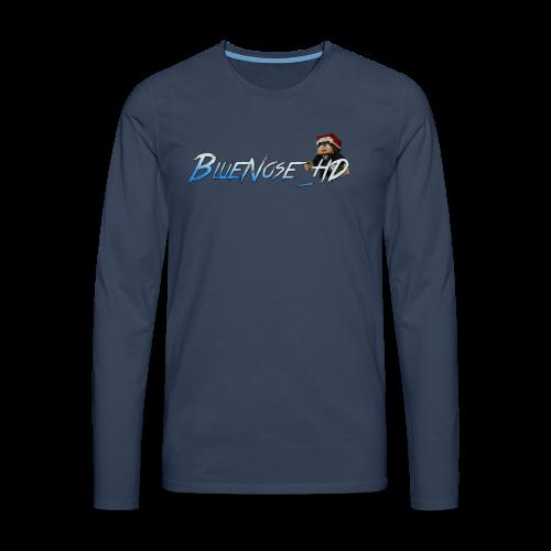BlueNose_HD T-Shirt - Men's Premium Longsleeve Shirt