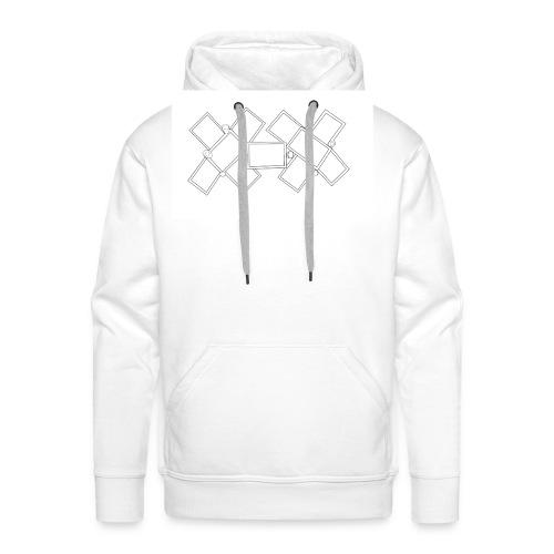 Cross - Sweat-shirt à capuche Premium pour hommes