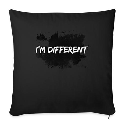 I'M DIFFERENT - Sofa pillowcase 17,3'' x 17,3'' (45 x 45 cm)