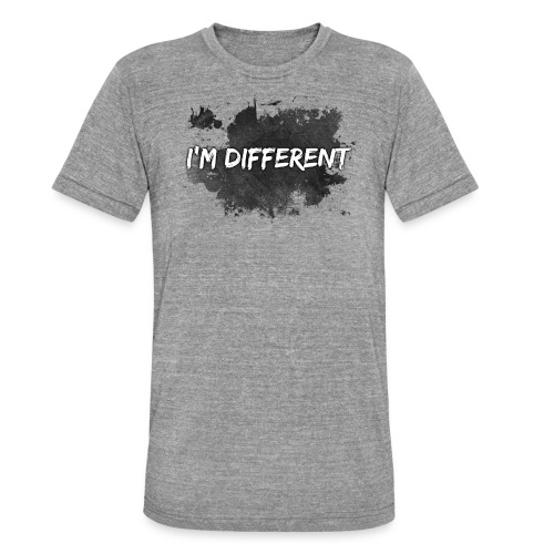 I'M DIFFERENT - Unisex Tri-Blend T-Shirt by Bella & Canvas