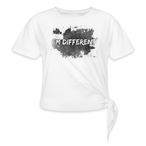 I'M DIFFERENT - Knotted T-Shirt