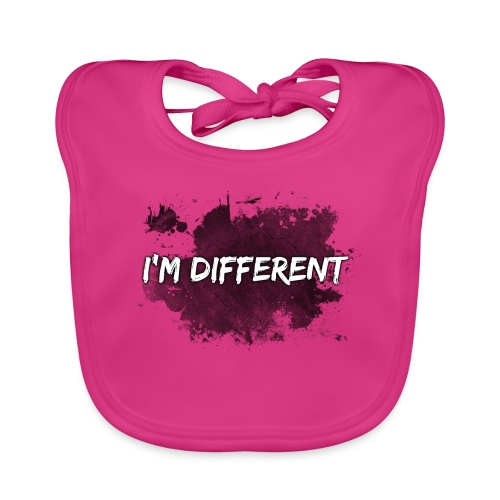 I'M DIFFERENT - Baby Organic Bib