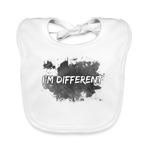I'M DIFFERENT - Baby Organic Bib
