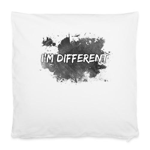 "I'M DIFFERENT - Pillowcase 16"" x 16"" (40 x 40 cm)"