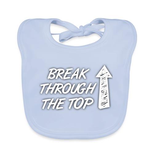 BreakThroughTheTop - Baby Organic Bib