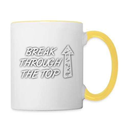 BreakThroughTheTop - Contrasting Mug
