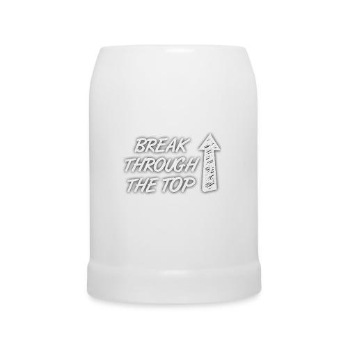 BreakThroughTheTop - Beer Mug