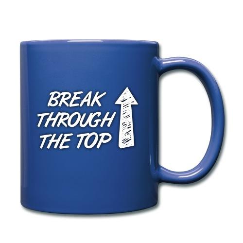 BreakThroughTheTop - Full Colour Mug