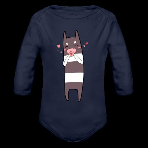 Donut Monster Premium T-Shirt for Kids - Organic Longsleeve Baby Bodysuit