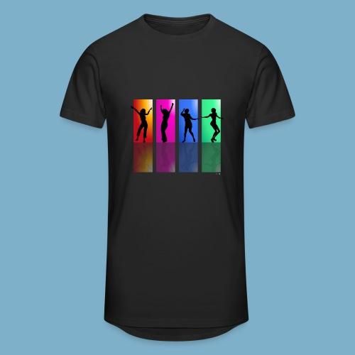 Dance on - Motive  - Männer Urban Longshirt