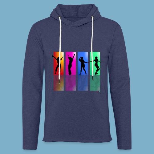 Dance on - Motive  - Leichtes Kapuzensweatshirt Unisex