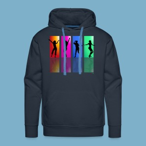 Dance on - Motive  - Männer Premium Hoodie