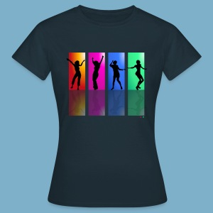 Dance on - Motive  - Frauen T-Shirt