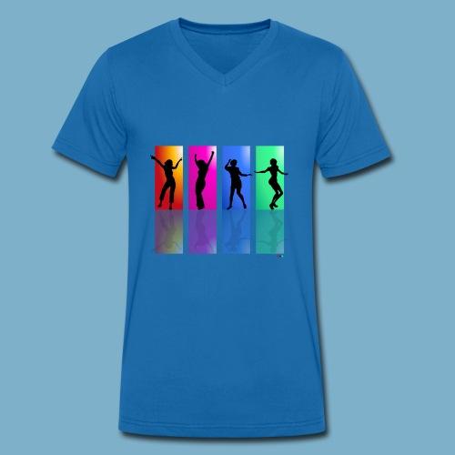 Dance on - Motive  - Männer Bio-T-Shirt mit V-Ausschnitt von Stanley & Stella