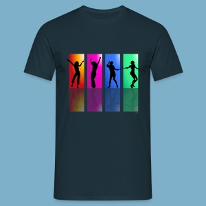 Dance on - Motive  - Männer T-Shirt