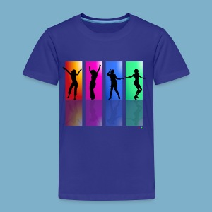 Dance on - Motive  - Kinder Premium T-Shirt