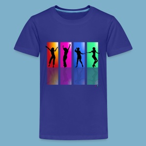 Dance on - Motive  - Teenager Premium T-Shirt