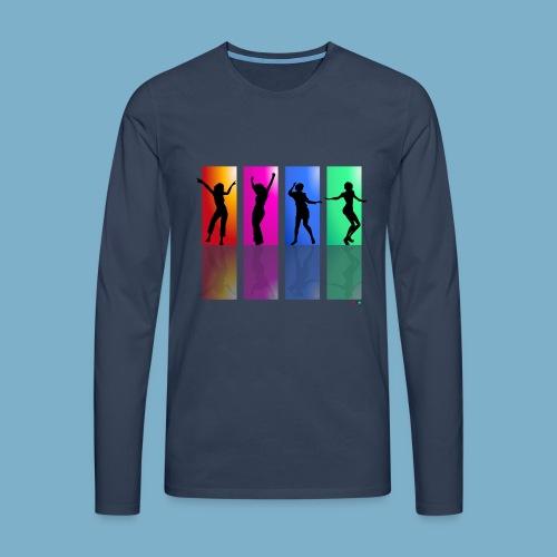 Dance on - Motive  - Männer Premium Langarmshirt