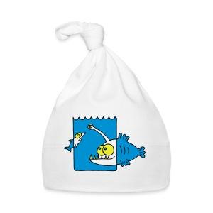 der Anglerfisch leuchtet den Weg, Lampe, angeln Langarmshirts - Baby Mütze