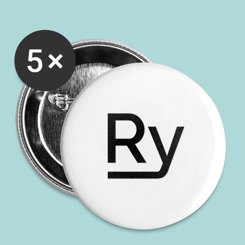 Ry2U Mousemat - Buttons small 1''/25 mm (5-pack)