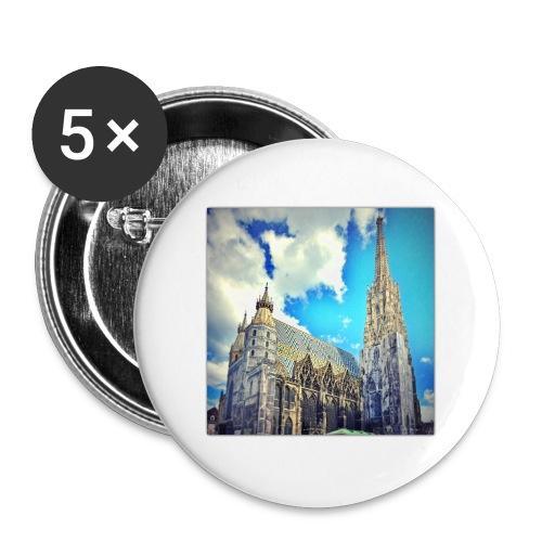 Steffl Bag - Buttons klein 25 mm (5er Pack)