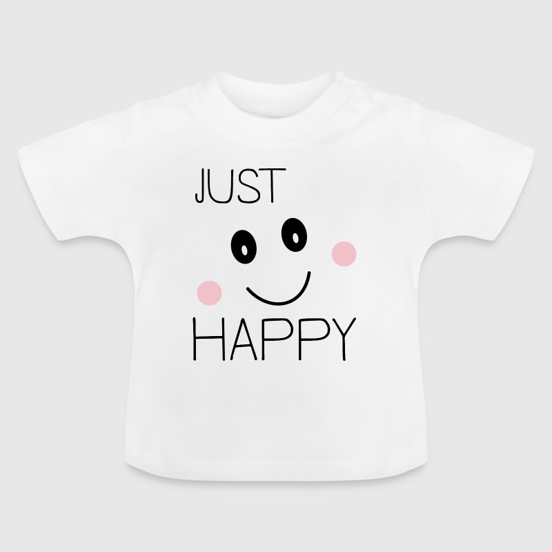 Bare glad smiley Baby T-shirts - Baby T-shirt
