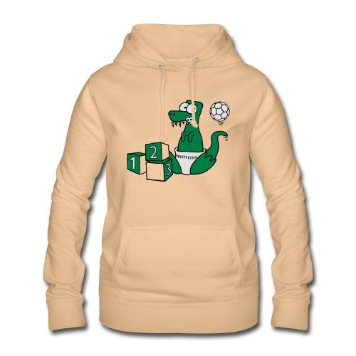 Baby T-Rex Dino mit Ball und Würfel T-Shirts - Frauen Hoodie
